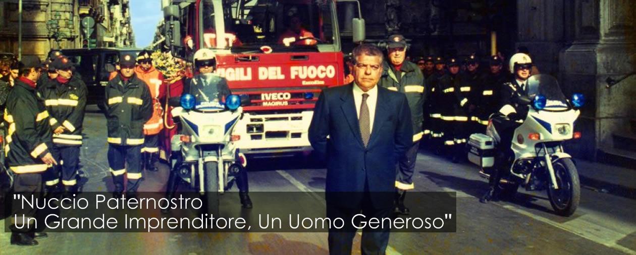 In Memoria di Nuccio Paternostro – La Città Piange la sua Scomparsa